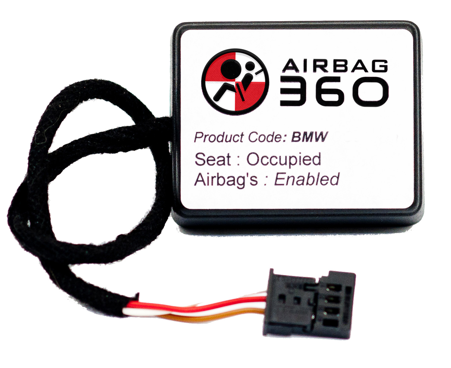 BMW 3 SERIES E90, E91,E92,E93 PASSENGER OCCUPANCY SEAT SENSOR, EMULATOR,  BYPASS UNIT